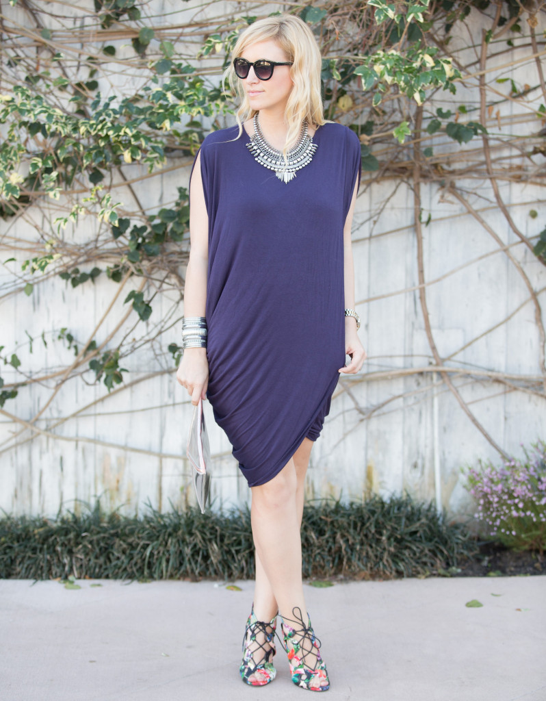 Riller & Fount dress, DSW shoes