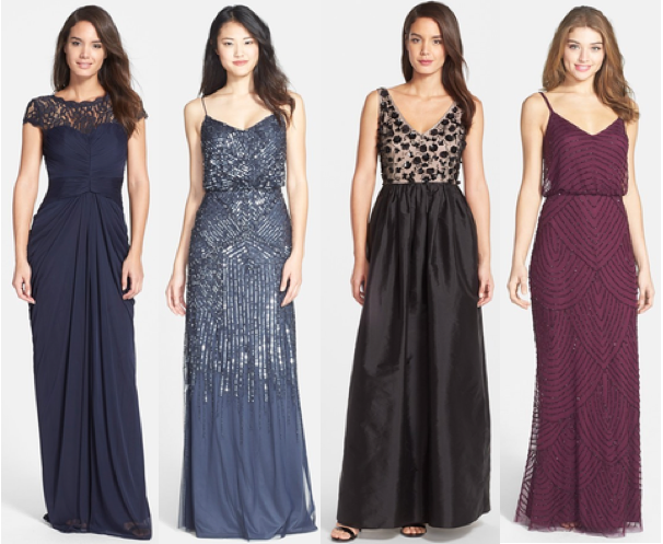 yoke skirt ac shipped gown sequin papell drapes embroidered adrianna free zappos draped at bodice on drape lace