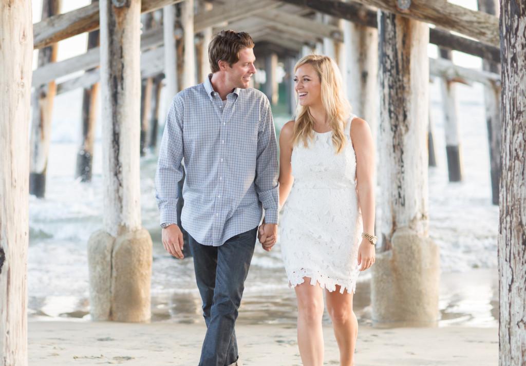 white crochet dress, wedding wednesday