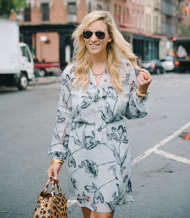 Oasis printed dress