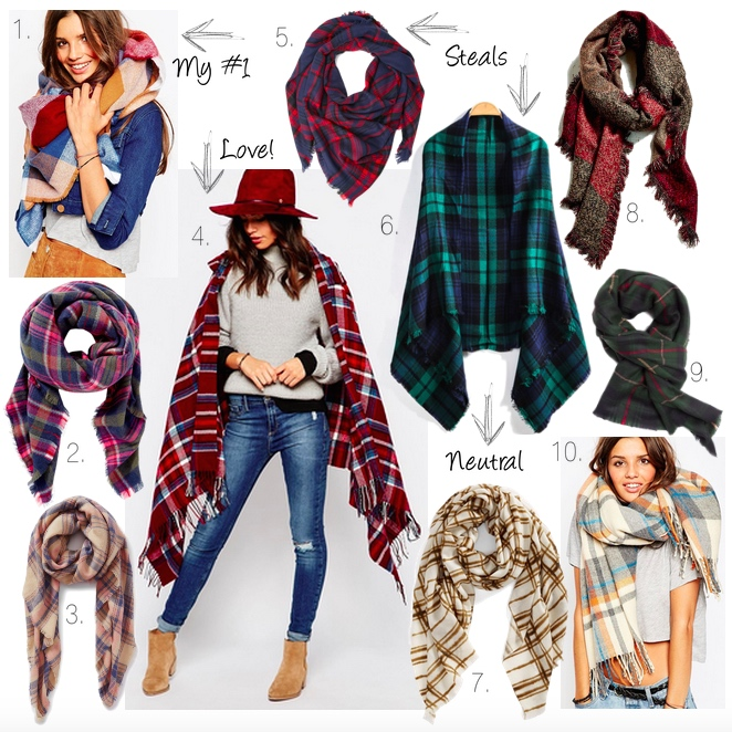Best blanket scarves, fall scarves