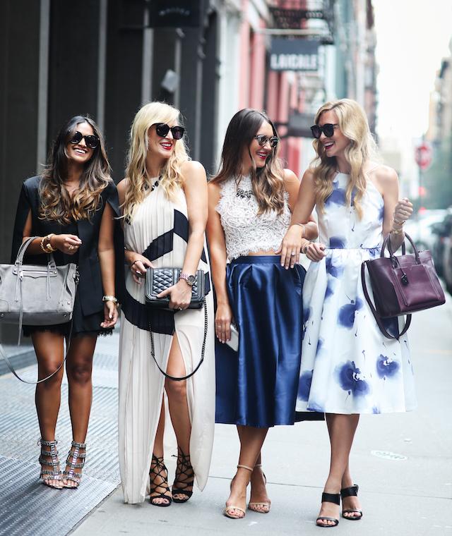 bloggers at NYFW