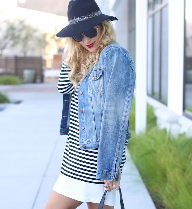 striped joie dress fall