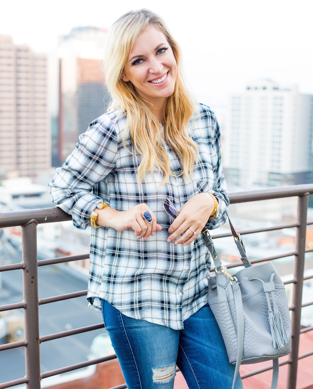how to wear plaid 2