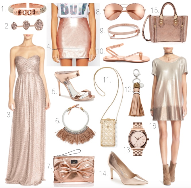 Rose Gold Favorites
