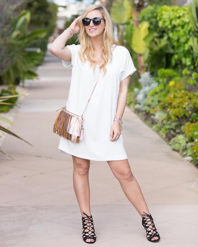 easy white dress