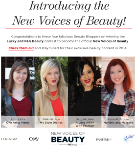 New Voices of Beauty