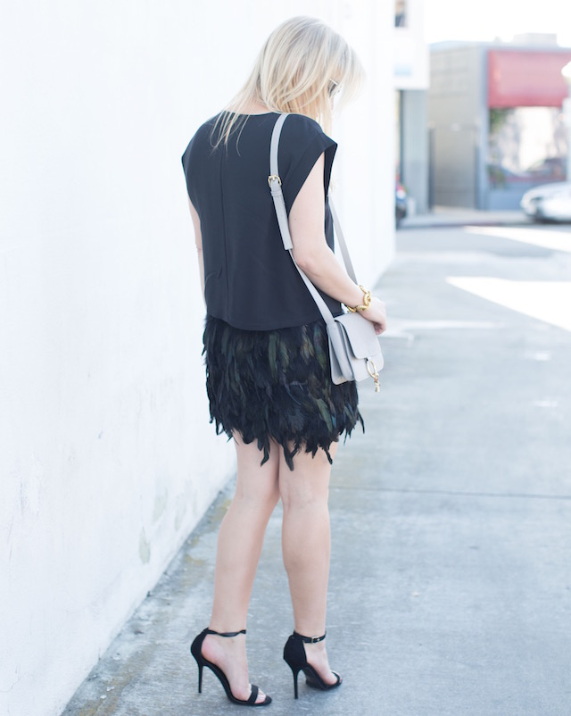 feather skirt - 1