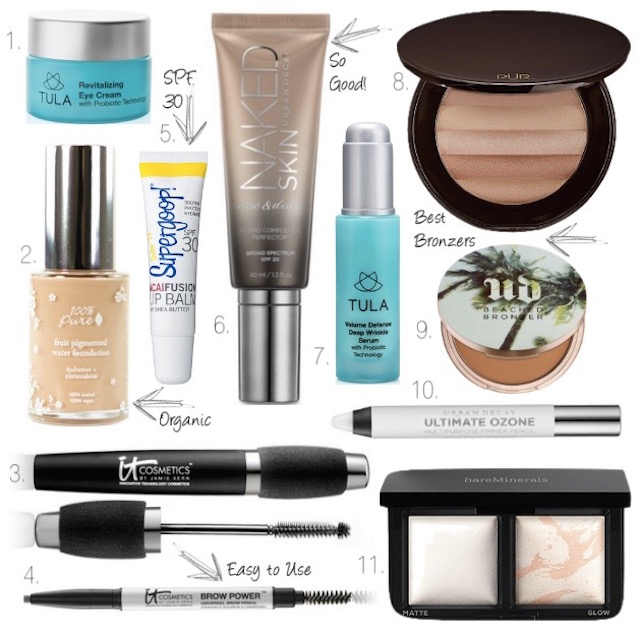 Summer beauty, urban decay, bareMinerals, IT Cosmetics, Tula skincare