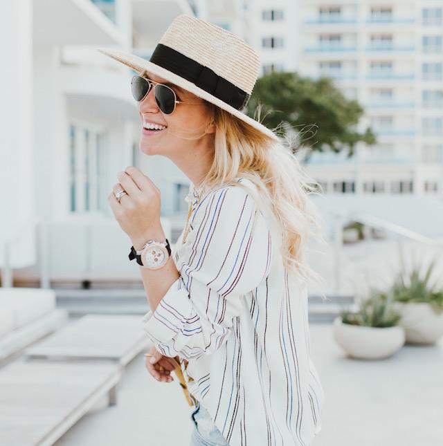 Wayf striped shirt - 1 (5)