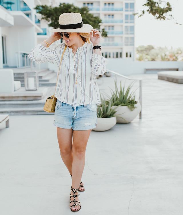 Wayf striped shirt - 1 (6)