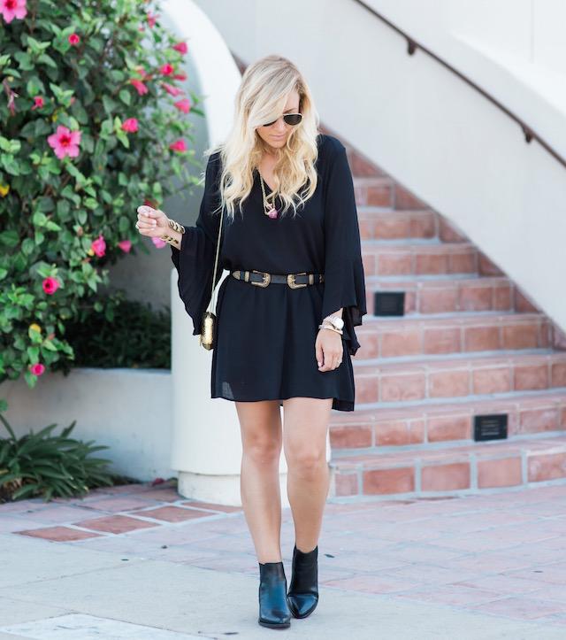 nsale little black dress