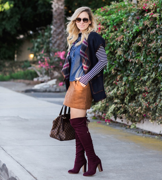 burgundy boots - 1 (3)