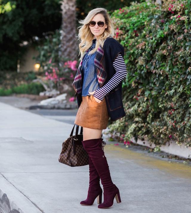 burgundy boots - 1 (3)