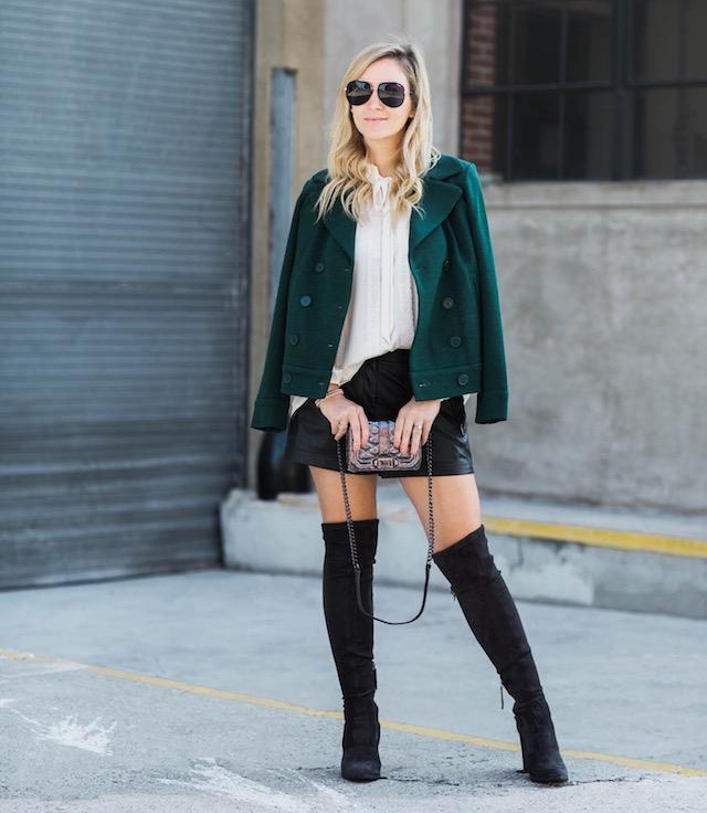 BCBG leather shorts - 1 (6)