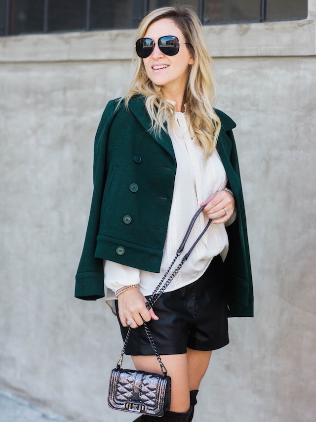 cabi sweater pea coat