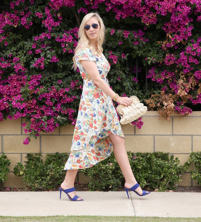 Best floral midi dress for summer