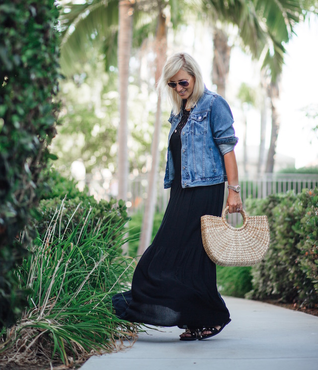 BCBG Lyndsy maxi dress + Rent the Runway clearance sale