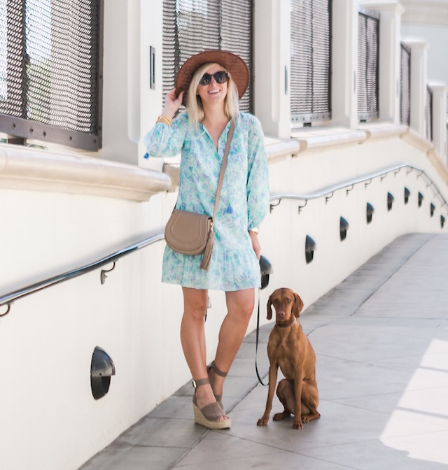 SoCal style blogger Nikki Prendergast of My Style Diaries at the Hyatt Regency Huntington Beach