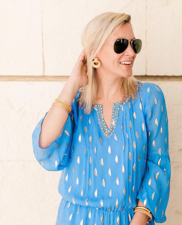 Julie Vos clip-on earring | Nikki Prendergast of My Style Diaries