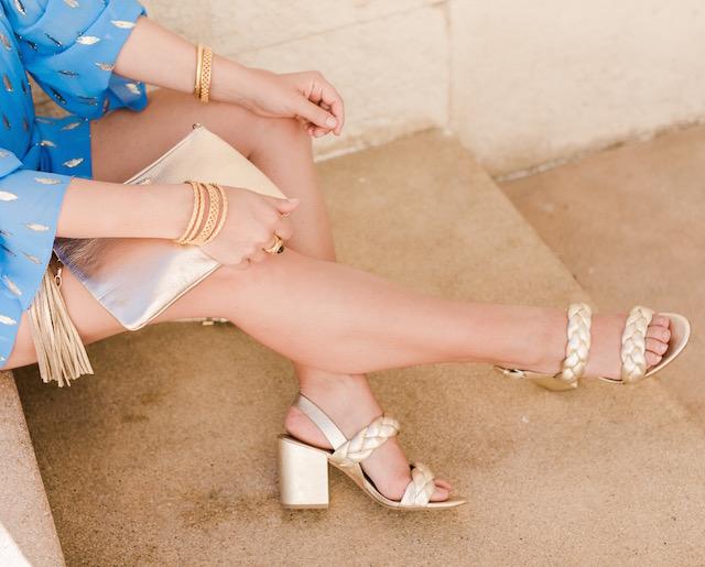 Julie Vos jewelry, GiGi New York clutch, Rebecca Minkoff heels at Pueblo Bonito Pacifica Resort in Cabo | Nikki Prendergast of My Style Diaries