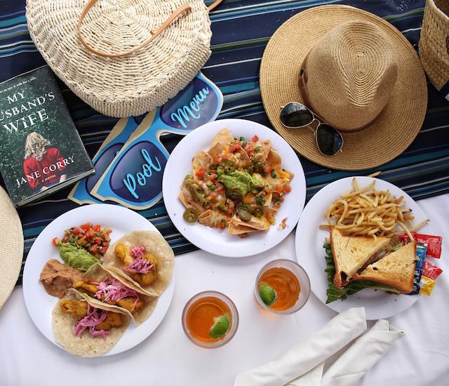 Beach lunch at Pueblo Bonito Pacifica in Cabo