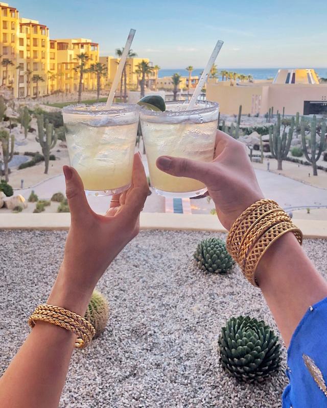 Margaritas at Pueblo Bonito Pacifica Resort in Cabo