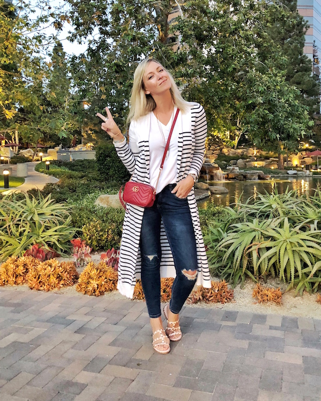 My Style Diaries blogger Nikki Prendergast at Red O Restaurant in La Jolla