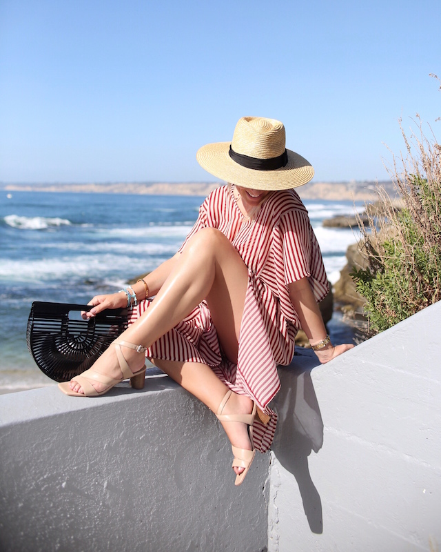 My Style Diaries blogger Nikki Prendergast at The Cove in La Jolla