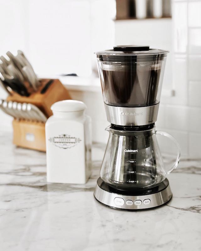 Cuisinart Automatic Cold Brew Coffeemaker | My Style Diaries blogger Nikki Prendergast