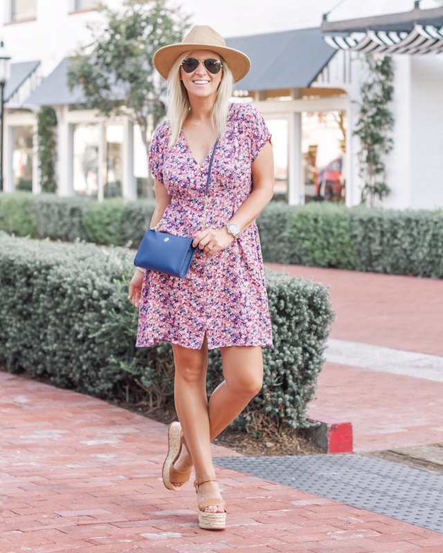 Under $40 summer dress and Tory Burch on sale in Nordstrom Anniversary Sale   My Style Diaries blogger Nikki Prendergast