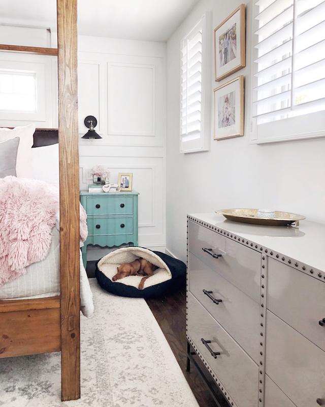 All white master bedroom   My Style Diaries blogger Nikki Prendergast