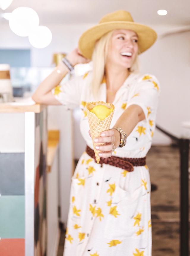 Vintage vibes at Kreem in Palm Springs | My Style Diaries blogger Nikki Prendergast