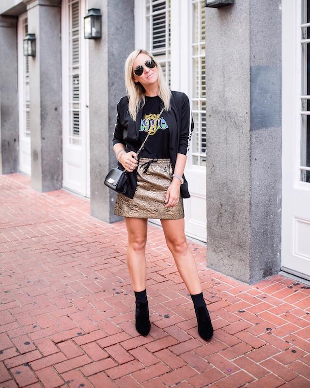 Zadig & Voltaire X Aqua skirt | My Style Diaries blogger Nikki Prendergast