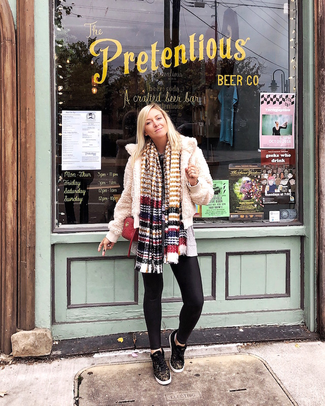 Pretentious Beer Co. in Knoxville, Tennessee | My Style Diaries blogger Nikki Prendergast