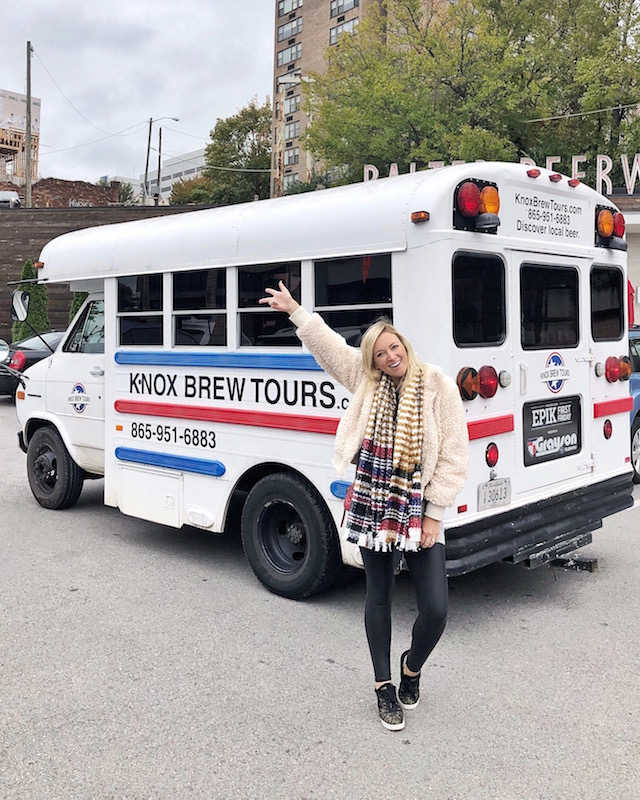 Knox Brew Tours in Knoxville, Tennessee | My Style Diaries blogger Nikki Prendergast