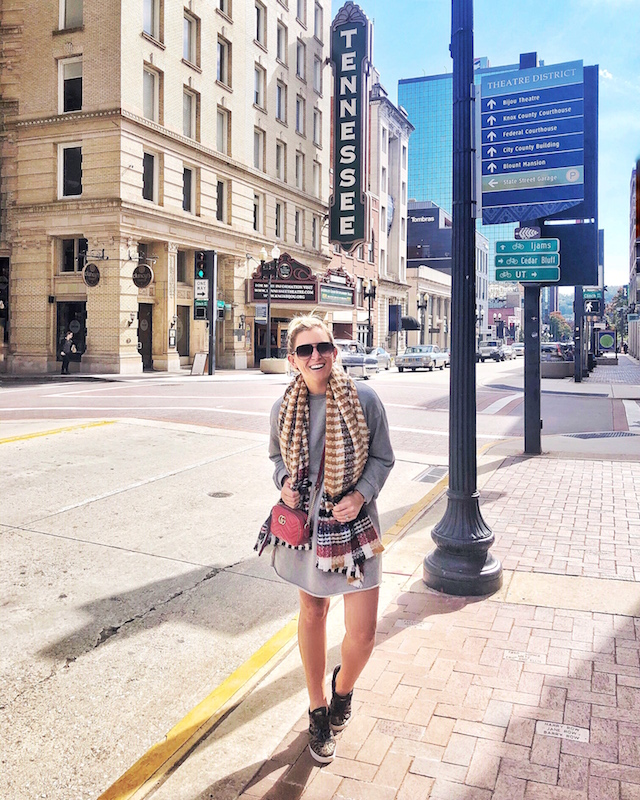 The Theater District in Knoxville, Tennessee | My Style Diaries blogger Nikki Prendergast