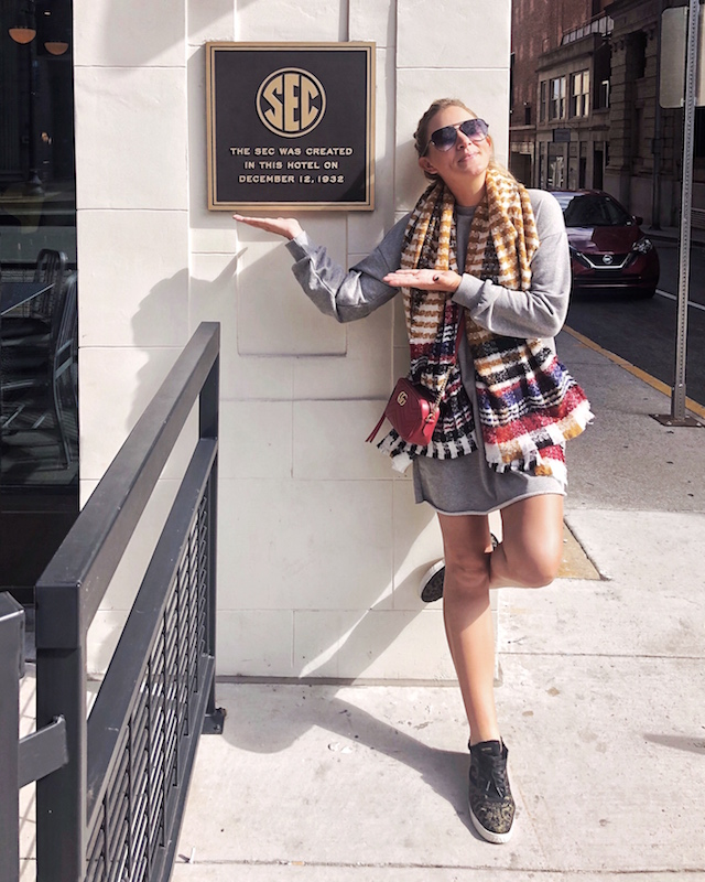 Birthplace of the SEC in Knoxville, Tennessee | My Style Diaries blogger Nikki Prendergast