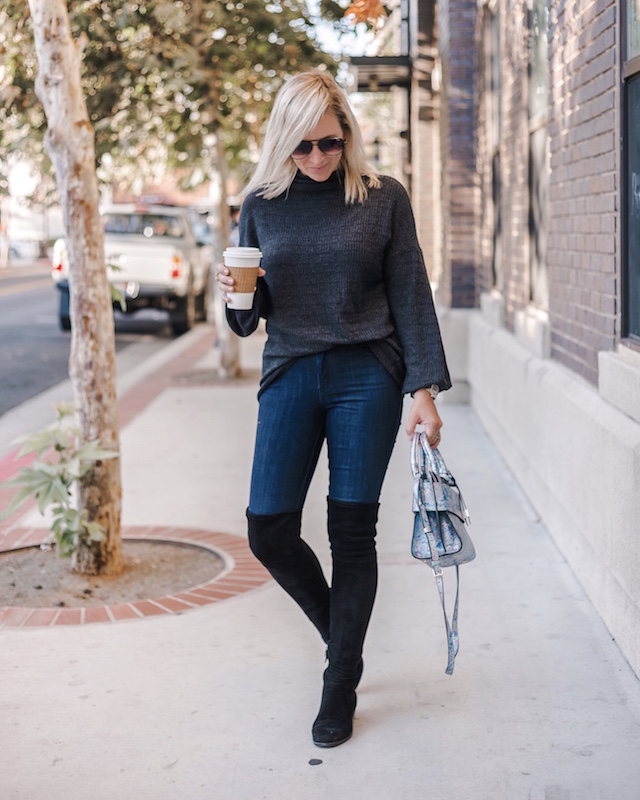 Over-the-knee boots on sale | My Style Diaries blogger Nikki Prendergast