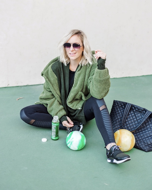 Workout wear and weighted medicine balls | My Style Diaries blogger Nikki Prendergast