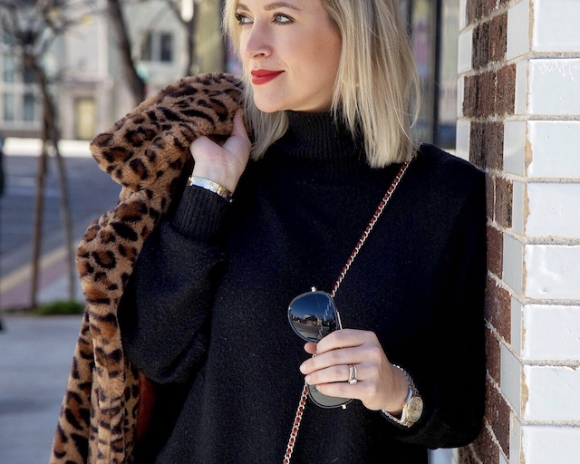 Cute leopard coat under $30 | My Style Diaries blogger Nikki Prendergast