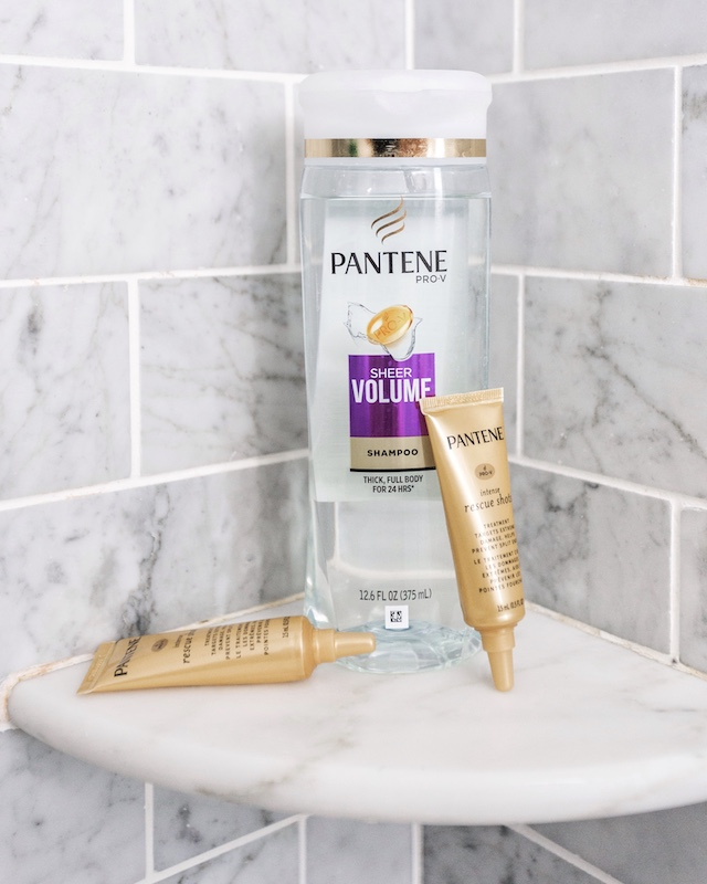 Pantene Pro-V's New Intense Rescue Shots | My Style Diaries blogger Nikki Prendergast