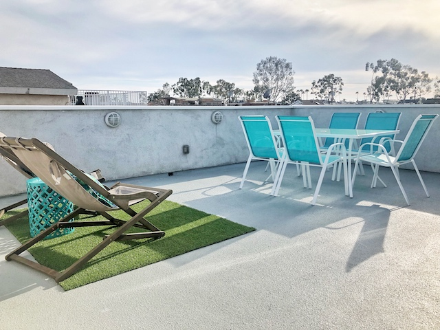 Rooftop Deck | Balboa Island Airbnb Vacation Rental