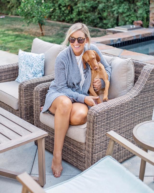 Nordstrom Anniversary sale picks, Barefoot Dreams cardigan | My Style Diaries blogger Nikki Prendergast