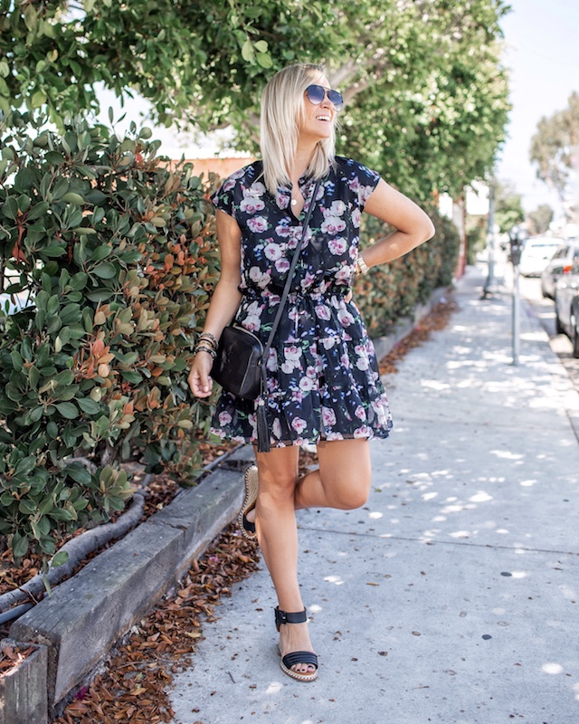 Fall floral dresses | My Style Diaries blogger Nikki Prendergast