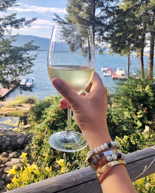View from The Lodge at Sandpoint | My Style Diaries blogger Nikki Prendergast