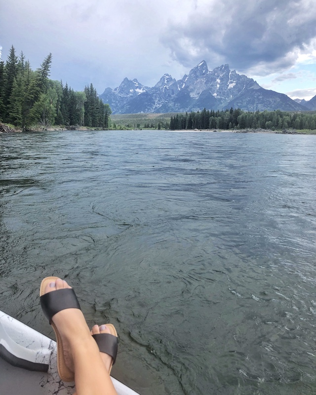 The Snake Rivver, Jackson, Wyoming | My Style Diaries blogger Nikki Prendergast