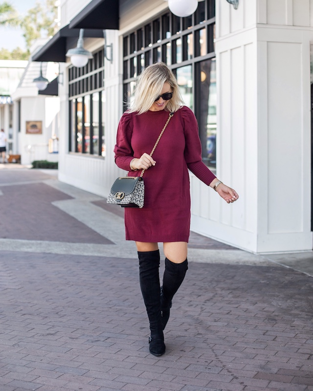 Best Fall Sweater Dresses | My Style Diaries blogger Nikki Prendergast
