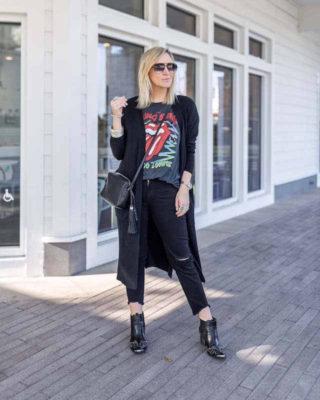 Dressing up band tees | My Style Diaries blogger Nikki Prendergast