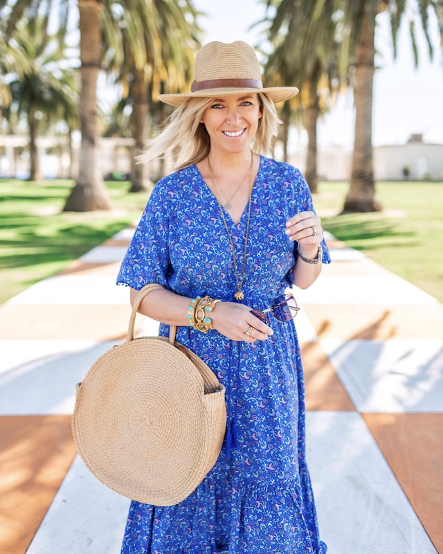 Under $30 Amazon maxi dress | My Style Diaries blogger Nikki Prendergast